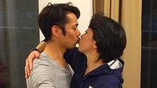 高橋大輔と橋本聖子のキス