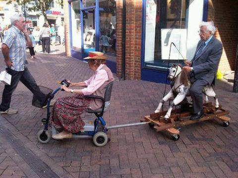 イギリスの高齢者